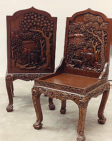 Hand Carved Vietnamese Furniture - Dining Room set, Dining ...